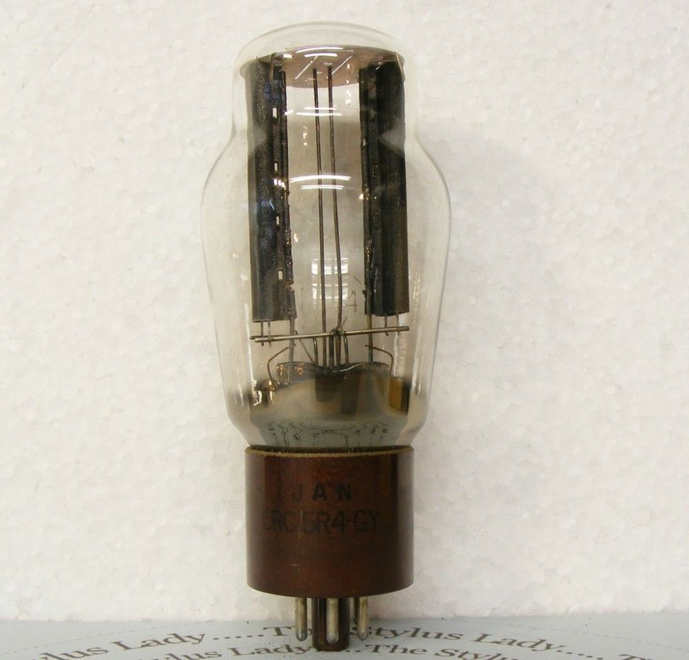 5R4GY, RCA valve, power rectifier, tested